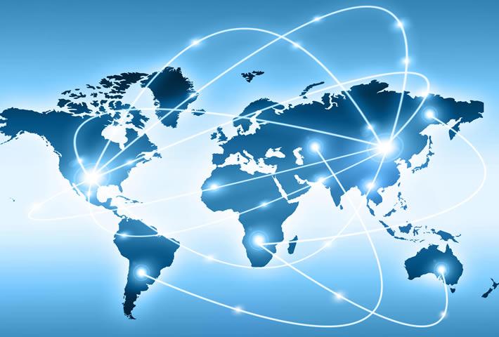 Illustration of international data interchange